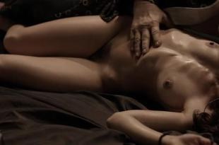 Manuela Martelli nude full frontal bush and sex – The Future (2013)