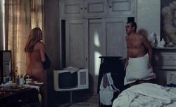 Ursula Andress nude butt and topless - Perfect Friday (1970)