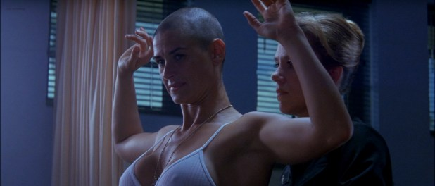 Demi Moore nude in the shower - G I Jane (1997) hd720-1080p (4)