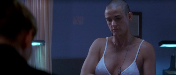 Demi Moore nude in the shower - G I Jane (1997) hd1080p (3)