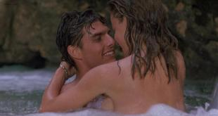 Elisabeth Shue nude but mostly covered and skinny dipping - Cocktail (1988) hd720p