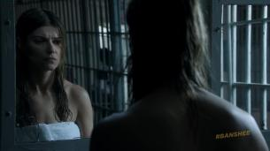 Ivana Milicevic nude side boob and butt naked in the shower - Banshee (2013) s2e5 hd1080p (7)