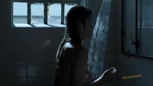 Ivana Milicevic nude side boob and butt naked in the shower - Banshee (2013) s2e5 hd1080p (4)