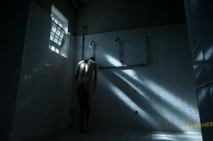 Ivana Milicevic nude side boob and butt naked in the shower - Banshee (2013) s2e5 hd1080p