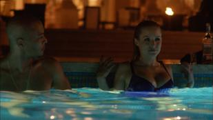 Kristen Bell hot in bikini in the pool from - House of Lies (2014) s3e7 hd1080p