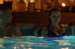 Kristen Bell hot in bikini in the pool from – House of Lies (2014) s3e7 hd1080p