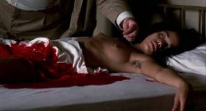 Lisa Bonet nude topless bloody and hot sex and Elizabeth Whitcraft nude topless in - Angel Heart (1987) hd1080p (2)