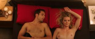 Alexis Knapp not nude but very hot and Megan Stevenson nude topless and sex - Cavemen (2013) hd1080p
