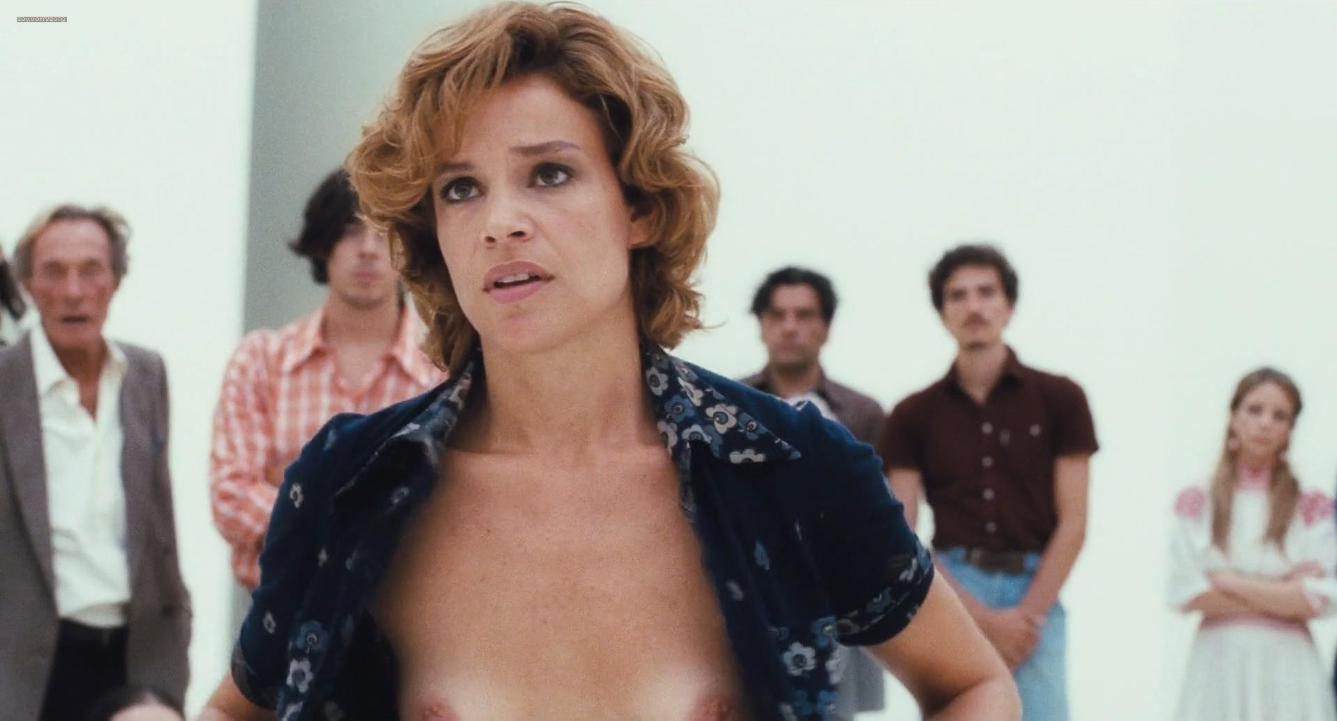 Micaela Ramazzotti nude bush topless and skinny dipping with Martina Gedeck - Anni felici (IT-2013) hd1080p