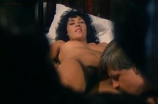 Lili Carati, Laura Gemser and Annie Belle all nude sex lesbian and lot of full frontal hairy bushes- The Alcove (1984)