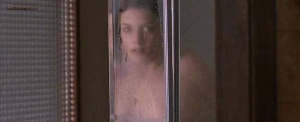 Mélanie Laurent nude brief topless in the shower - La chambre des morts (2007) (6)