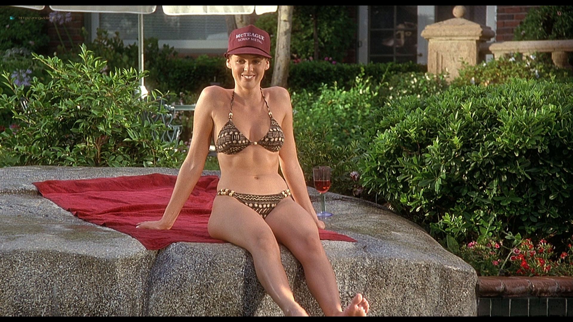 Olivia d'Abo hot and sexy in bikini and Nancy Travis hot in - Greedy (1994) HD 1080p BluRay (15)