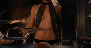 Charlize Theron hot sexy and briefly nude side boob in - Aeon Flux (2005) hd1080p