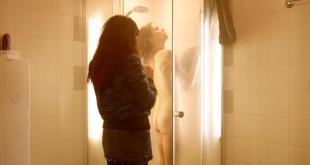 Hannah Hoekstra nude butt naked in the shower in Dutch movie - App (2013) hd1080p
