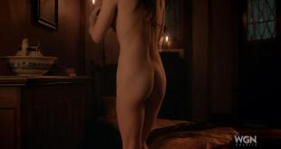 Janet Montgomery nude butt naked - Salem (2004) s1e1 hd720p