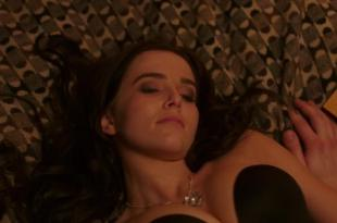 Zoey Deutch hot and sexy in black lingerie and some mild sex in – Vampire Academy (2014) hd720p