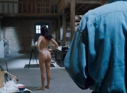 Emmanuelle Béart nude full frontal bush and nude modeling in - La belle noiseuse (FR-1991) HD 1080p BluRay (17)