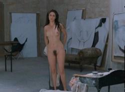 Emmanuelle Béart nude full frontal bush and nude modeling in - La belle noiseuse (FR-1991) HD 1080p BluRay (4)
