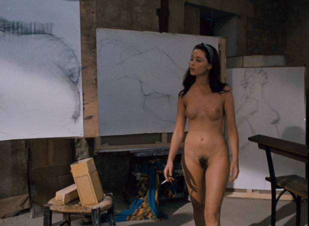 Emmanuelle Béart nude full frontal bush and nude modeling in - La belle noiseuse (FR-1991) HD 1080p BluRay (2)