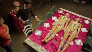 Various actresses all nude in - Alpha House (2014)