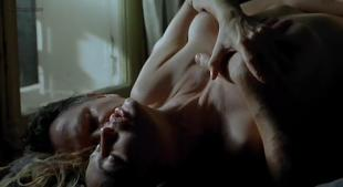 Emmanuelle Beart nude topless sex and very hot in French movie - The Story of Marie and Julien (2003)