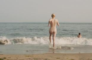 Dakota Fanning nude skinny dipping and sex and Elizabeth Olsen nude but covered – Very Good Girls (2013) hd1080p