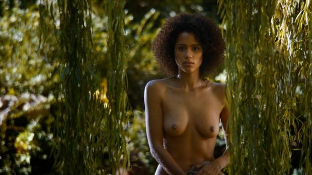 Nathalie Emmanuel nude topless and butt - Game of Thrones (2014) s4e8 hd720