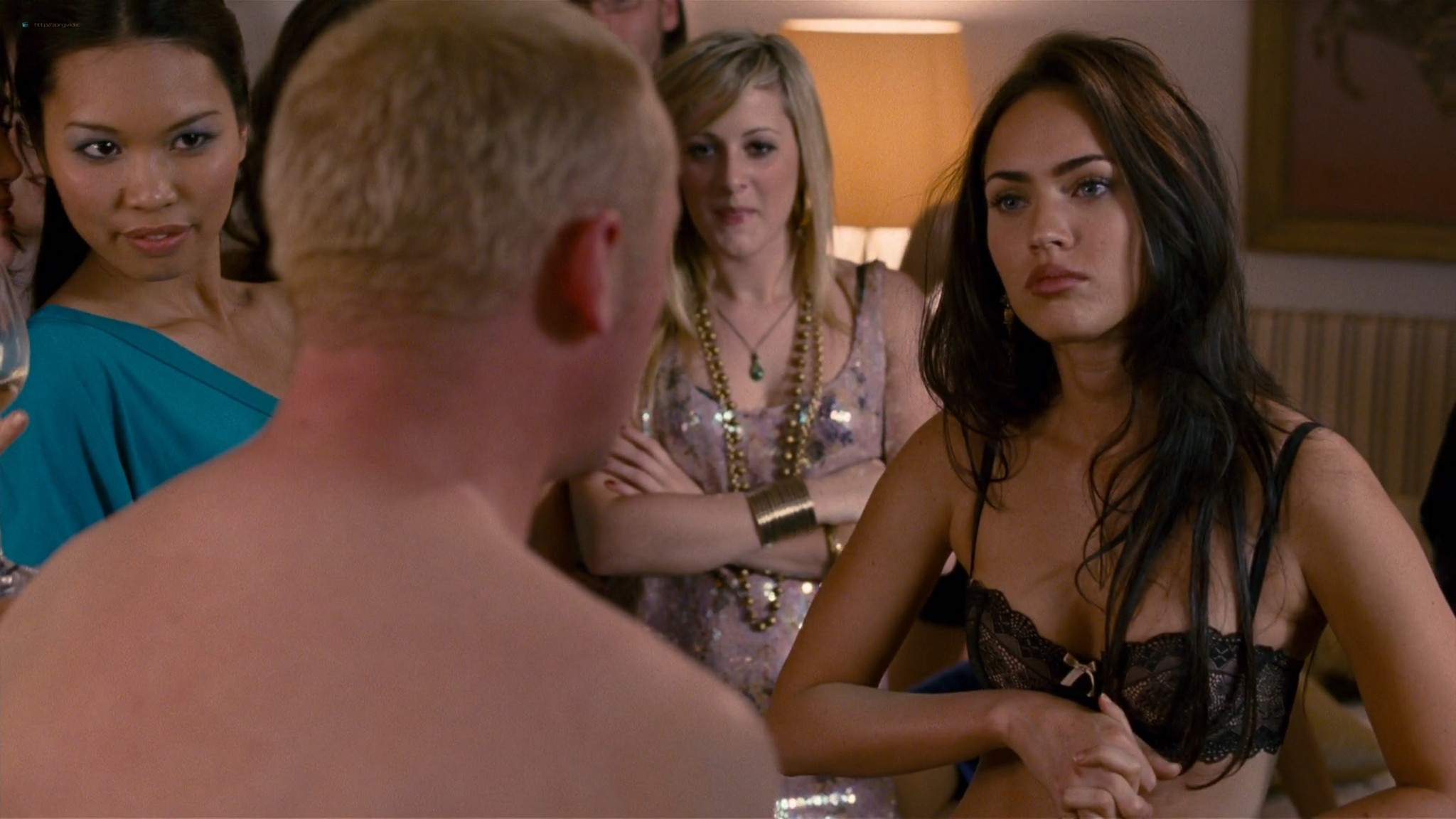 Megan Fox hot wet - How to Lose Friends and Alienate People (2008) HD 1080p BluRay (4)