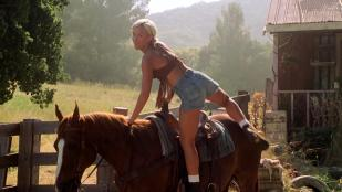 Brittany Daniel hot leggy and Jaime Pressly hot - Joe Dirt (2001) hd1080p