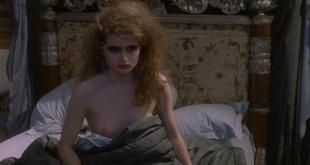 Helena Bonham Carter nude topless - Getting It Right (1989)