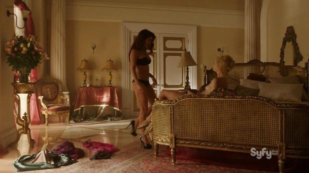 Katrine De Candole nude butt naked and Shivani Ghai hot - Dominion (2014) s1e8 hd720p (8)