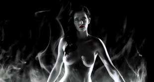 Eva Green nude topless Jessica Alba hot Juno Temple nude and Rosario Dawson hot - Sin City A Dame to Kill For (2014) 1080p