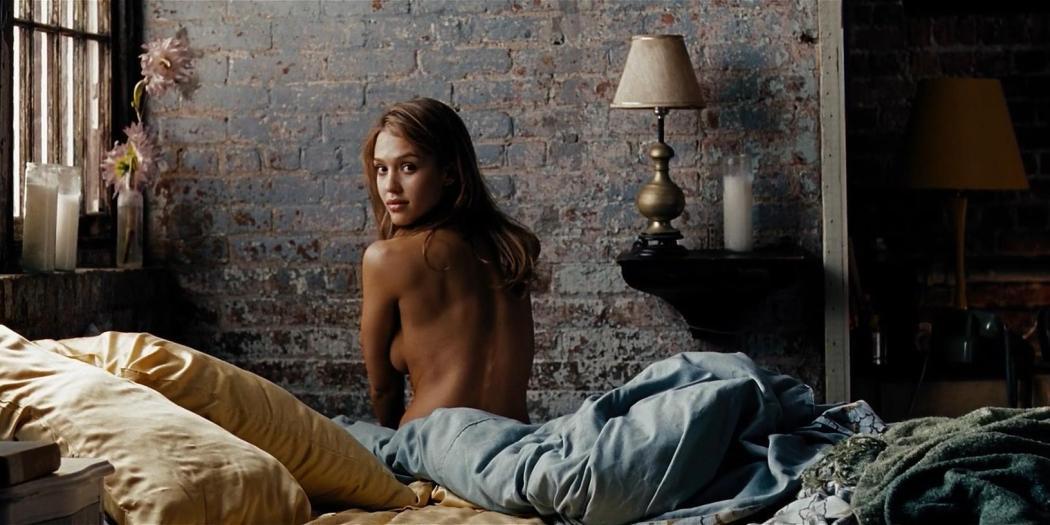Jessica Alba hot sexy and wet - Awake (2007) hd1080p (6)