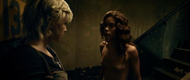 Katie Cassidy nude topless and sex and Ashlynn Yennie nude - The Scribbler (2014) hd1080p (12)