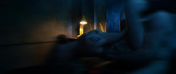 Katie Cassidy nude topless and sex and Ashlynn Yennie nude - The Scribbler (2014) hd1080p (6)