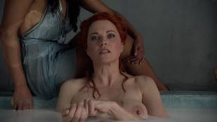 Lucy Lawless nude topless and sex - Spartacus (2010) s1 hd1080p
