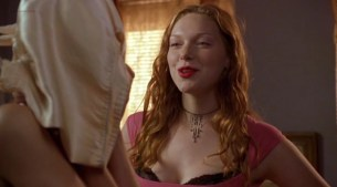 Jaime King hot wet and sex and Laura Prepon hot funny and masturbating - Slackers (2002) (11)