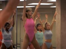 Jamie Lee Curtis hot and sexy - Perfect (1985)