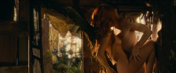 Juno Temple nude topless butt and sex and Kendra Anderson nude sex - Horns (2013) hd720p