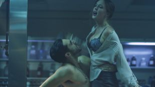 Katharine Isabelle hot sex in the morgue - See No Evil 2 (2014) hd1080p