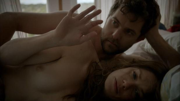 Ruth Wilson nude butt topless and butt naked in the shower - The Affair (2014) s1e1 hd720-1080p 8