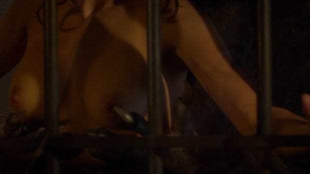 Sarah Lind nude topless and sex with the wolfcop - Wolfcop (2014) hd720p (2)