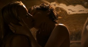 Sian Breckin nude sex and Jaime Winstone nude sex threesome - Donkey Punch (2008) (8)