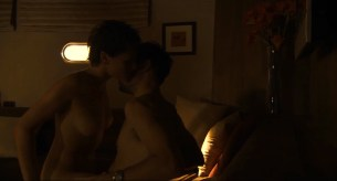 Sian Breckin nude sex and Jaime Winstone nude sex threesome - Donkey Punch (2008) (6)