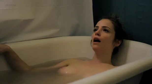 Jaime Ray Newman nude topless sex and naked in the bath Dakota Shepard nude sex but body double - Rubberneck (2013) (4)