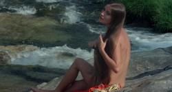 Jane Seymour nude side boob and nipple and Taryn Power nude side boob - Sinbad and the Eye of the Tiger (1977) hd1080p (2)