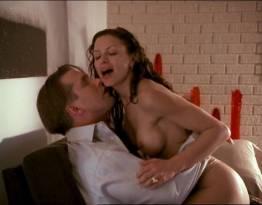 Kari Wuhrer nude Monique Alexander nude bush and sex - Spider's Web (2002)