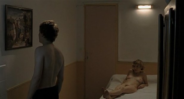 Lola Naymark nude topless and busty and Melanie Leary nude bush - Dans tes bras (FR-2009) (5)