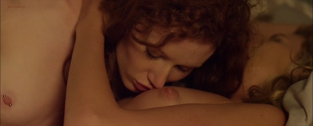 Sharon Hinnendael nude topless and lesbian sex and Jill Evy nude topless - Anatomy of Love Seen (2014) hd720 - 1080p (8)