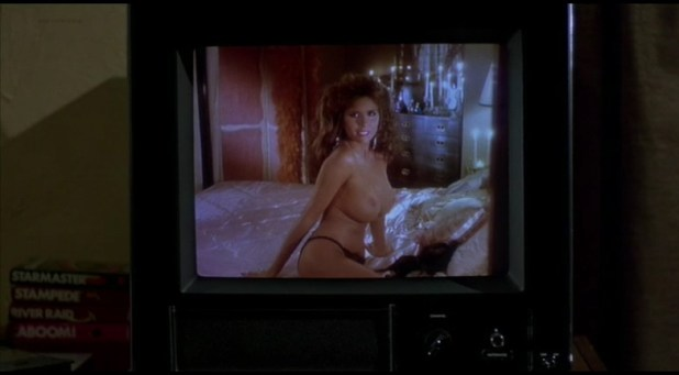 Monique Gabrielle nude full frontal and Corinne Wahl nude and hot - Amazon Women on The Moon (1987) (1)